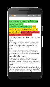Swahili Bible 1.0 Mod APK (Unlimited) 3