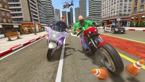 Police Moto Bike Chase Crime Shooting Games apktram screenshots 11