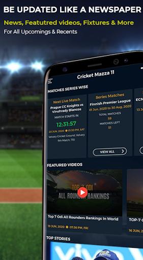 Cricket Mazza 11 Live Line & Fastest IPL Score 2.14 Screenshots 2