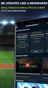 Cricket Mazza 11 Live Line & Fastest IPL Score Mod 2.08 Apk [Unlocked] 2