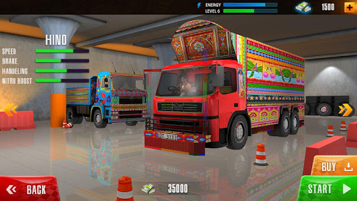 Crazy Cargo Truck Driver 2021 screenshots 1