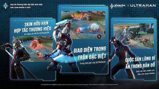 Garena Liu00ean Quu00e2n Mobile x Ultraman 1.36.1.11 screenshots 1