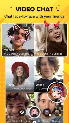 Hago-Talk, Live & Play Games android2mod screenshots 5