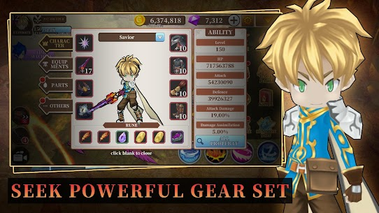 Endless Quest: Hades Blade – Free idle RPG Mod Apk (VIP15) 2