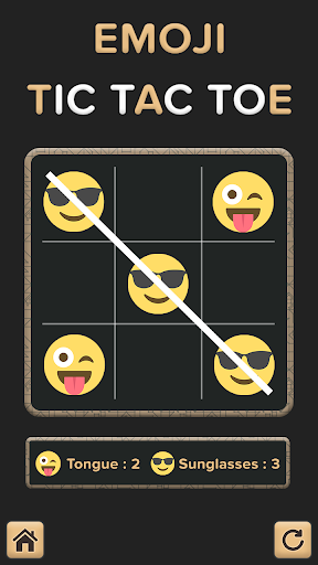 Tic Tac Toe For Emoji 5.8 screenshots 1