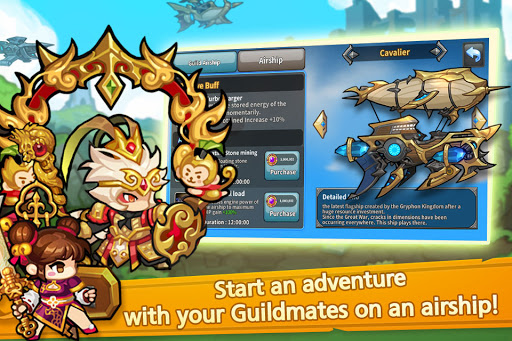 Raid the Dungeon : Idle RPG Heroes AFK or Tap Tap 1.10.2 screenshots 6
