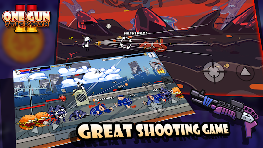 One Gun 2 Stickman 1.27 Mod APK Download 1