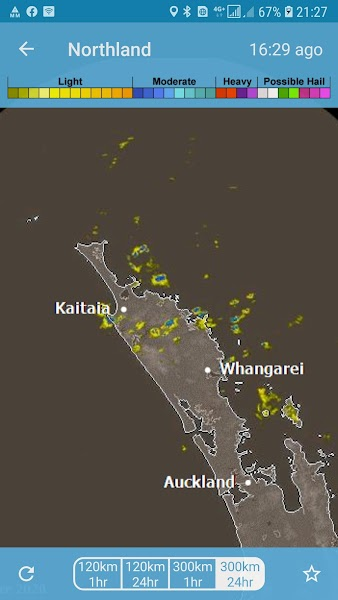 Rain Radar New Zealand - MetService Radar Weather