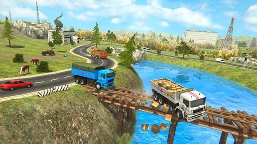 Indian Cargo Truck Driver Simulator Game -Forklift 1.20 screenshots 4