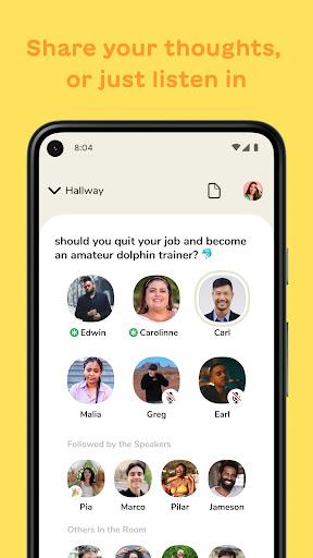 Clubhouse: The Social Audio App apktram screenshots 2