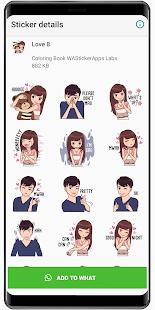 Romantic love stickers 2020 ❤️ WAStickerApps Love