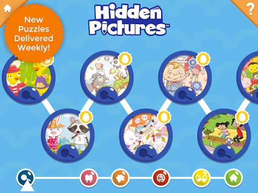 Hidden Pictures Puzzle Town u2013 Kids Learning Games android2mod screenshots 8
