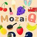 脳トレパズル !身近なモノでMozaiQ - Androidアプリ