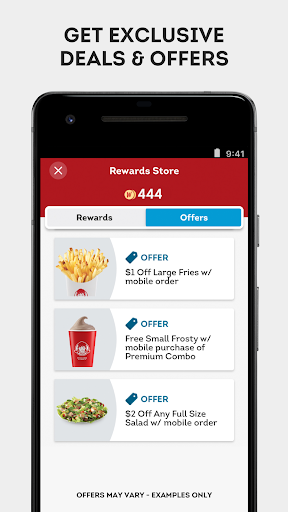 Wendyu2019s u2013 Earn Rewards, Order Food & Score Offers  screenshots 3
