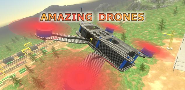 amazing drones - 3d simulator game hack