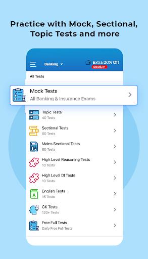 Exam Preparation App: Free Mock Test, Live Classes apktram screenshots 4