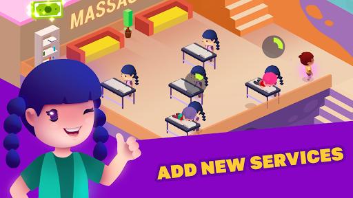 Idle Beauty Salon: Hair and nails parlor simulator apkslow screenshots 14