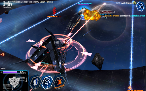 Galaxy Reavers - Starships RTS apkmr screenshots 15