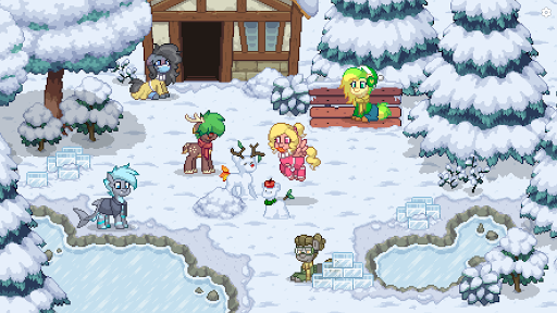 Pony Town - Social MMORPG screenshots 15