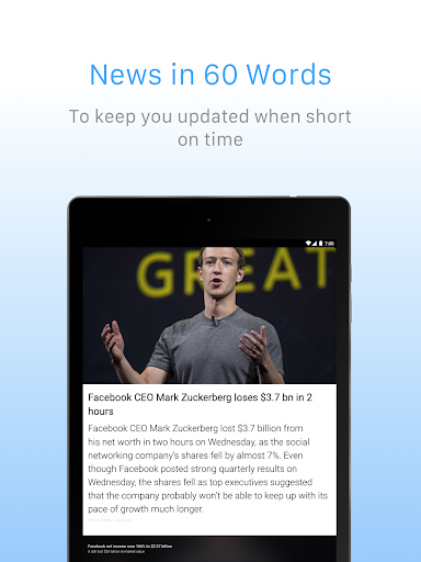 Inshorts - 60 words News summary 5.1.27 Screenshots 9