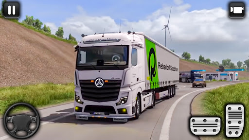 euro un camion parking défi: conduite simulateur APK MOD screenshots 4