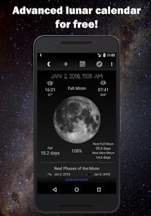 Moon Phase Calendar 1.46 APK screenshots 1
