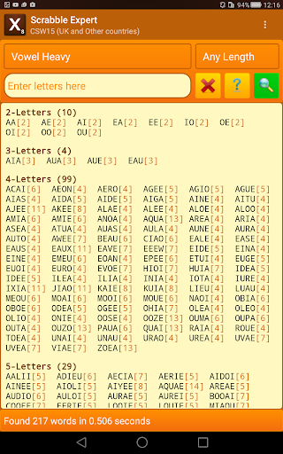 Word Expert (for SCRABBLE) 4.4 Screenshots 12