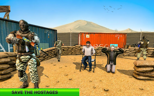 Real Terrorist Shooting Games: Gun Shoot War modiapk screenshots 1