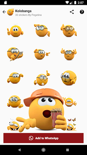 Emojis, Memojis and Memes Stickers - WAStickerApps WAStickerApps 1.0.49 Screenshots 9