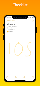 iNote Pro Apk- iOS Notes, iPhone style Notes 7