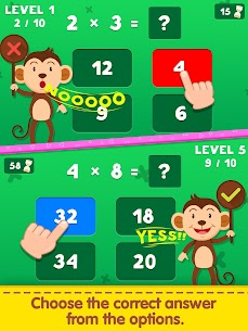 Free Multiplication Table Learning – Kids Math Learning 2