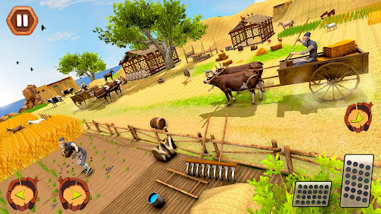Village Farm Vintage Farming  Village Simulator Apk 4