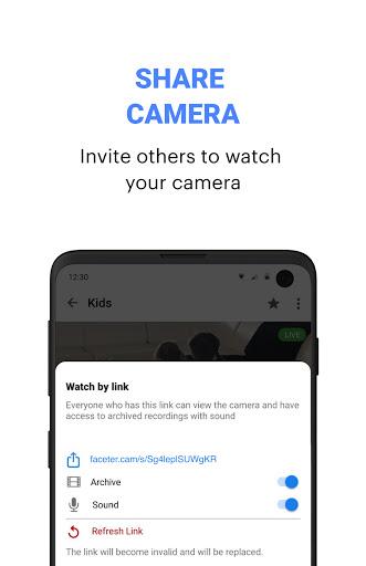 Faceter u2013 Free DIY Cloud Video Surveillance 1.24.1 Screenshots 4
