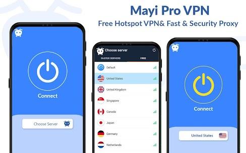Mayi Pro VPN – Ads Free Vpn – Safe & Secure Vpn 5