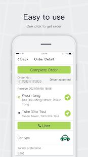 taxi app (HK) - Driver
