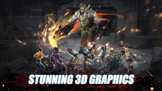 Mod Game Fury Hero: Survival Raid RPG for Android
