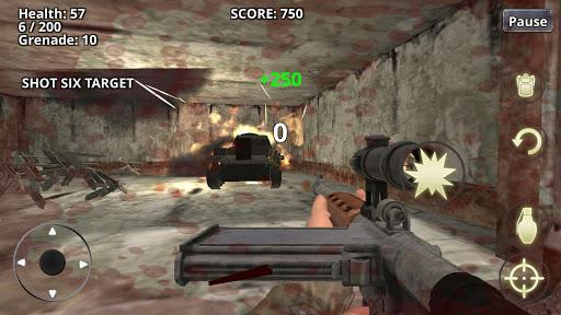 War Battleground WW2 Shooter  screenshots 3