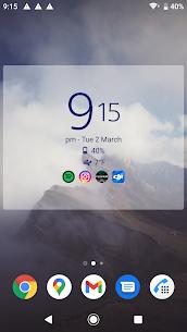 Digital Clock and Weather Widget MOD APK (Premium Unlocked) 2