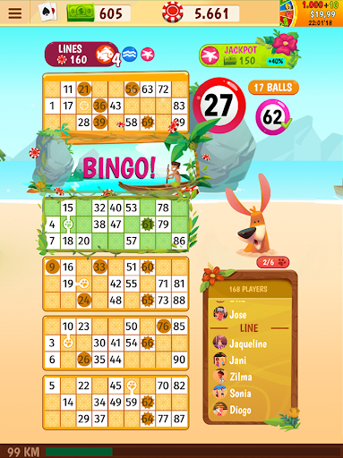 Praia Bingo - Bingo Games + Slot + Casino 30.030 screenshots 16
