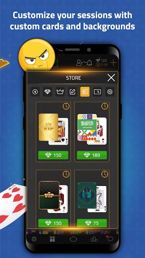 VIP Jalsat: Tarneeb, Trix & Domino Online 3.7.2.61 screenshots 14