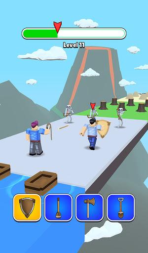 Roblock Transform Run - Epic Craft Race apkpoly screenshots 5