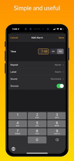 iClock iOS - Clock iPhone Xs, Phone 13 android2mod screenshots 2