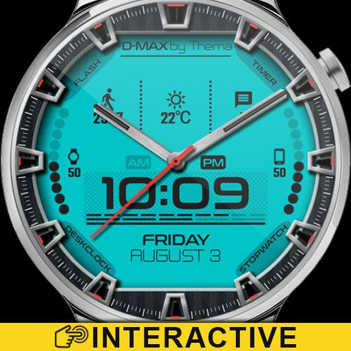 D-Max Watch Face & Clock Widget Icon