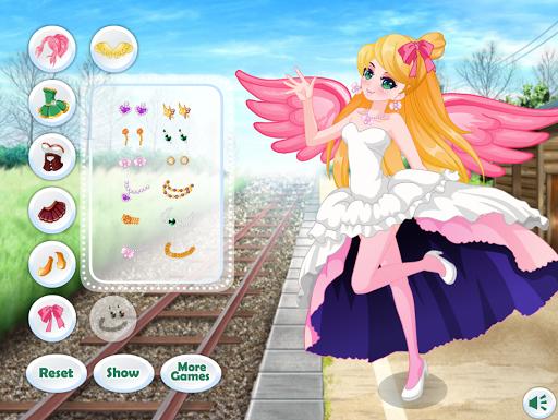 Dress Up Angel Anime Girl Game - Girls Games 1.1.3 screenshots 4