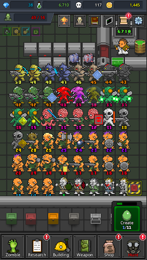 Grow Zombie VIP - Merge Zombies  screenshots 19