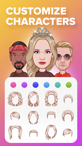 Mirror: Emoji meme maker, avatar stickers creator apktram screenshots 12