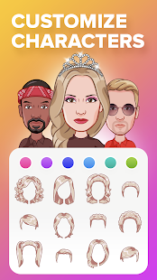 Mirror: emoji meme maker, faceapp avatar stickers
