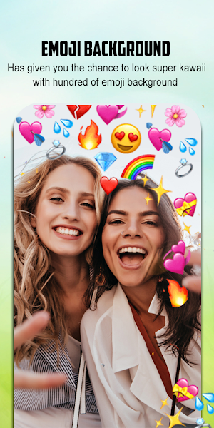 Emoji Background Photo Editor