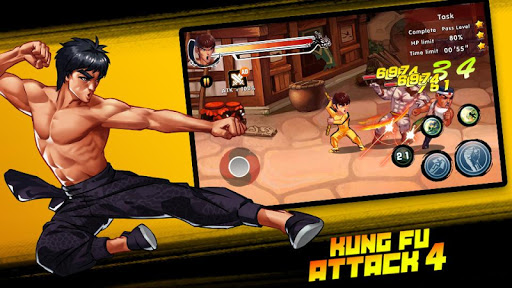 Kung Fu Attack 4 - Shadow Legends Fight 1.2.8.1 screenshots 11