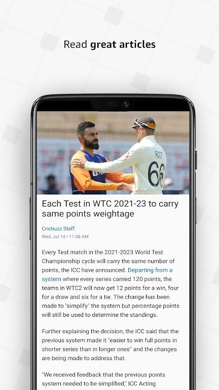 Cricbuzz - Live Cricket Scores & News  poster 7